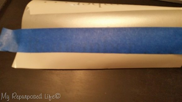 painter's tape transfers vinyl