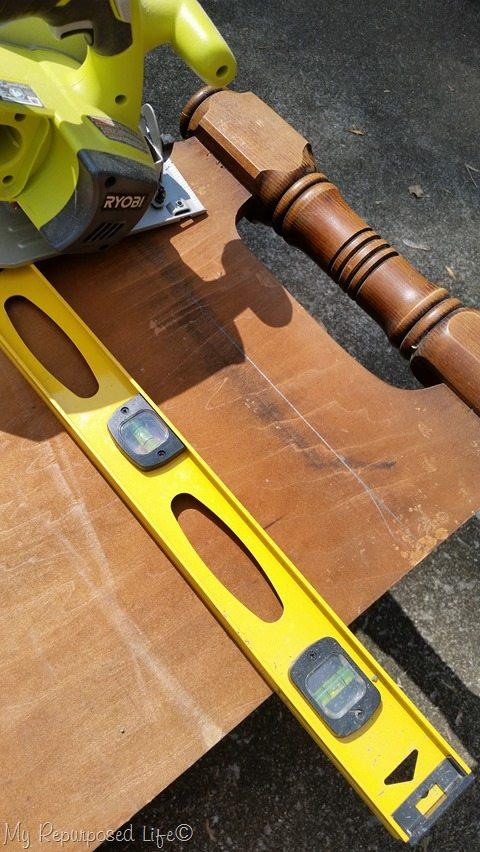 trim headboard down
