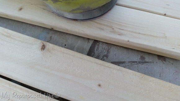 cut sand firring strips