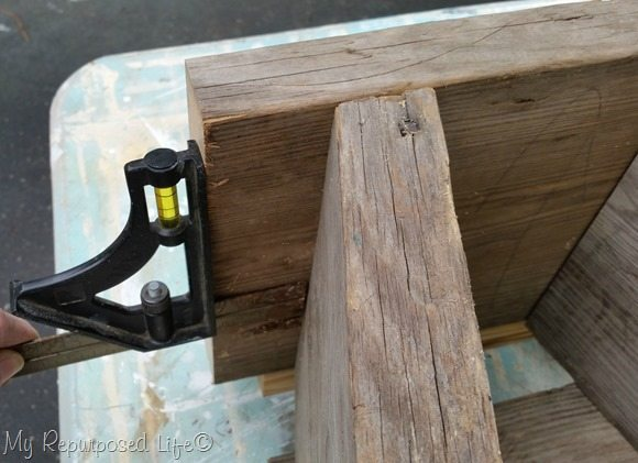 measure distance for step stool top