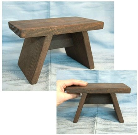 tiny japanese bath stool