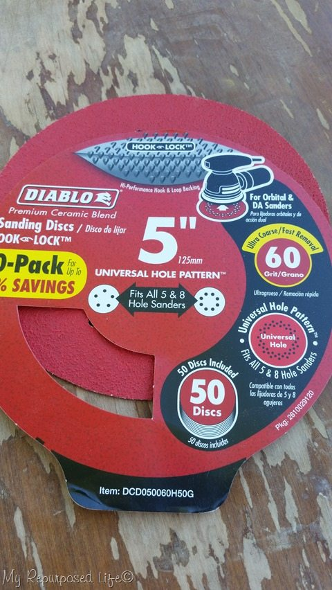 60 grit sandpaper discs