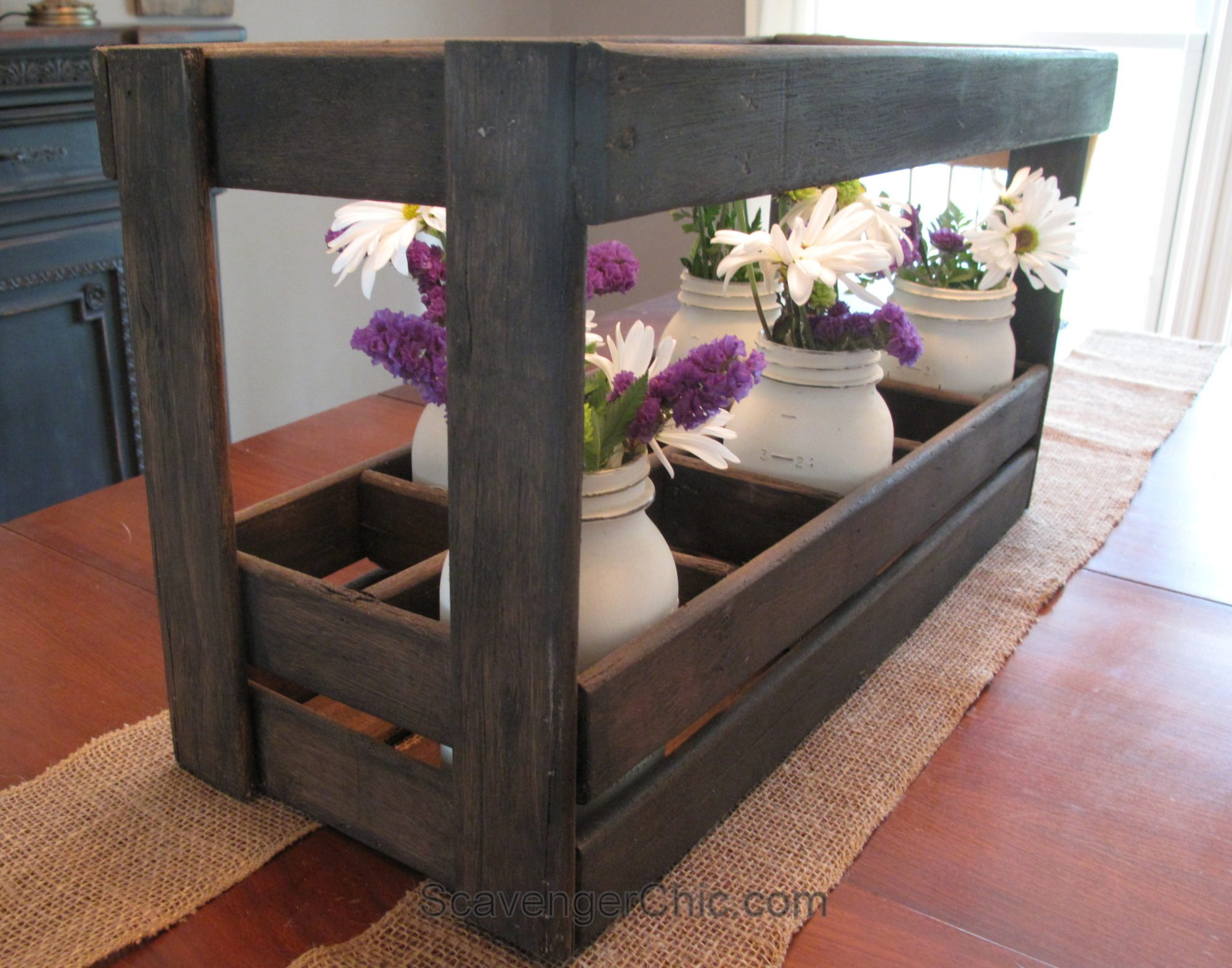 Wooden Caddy From Bed Slats My Repurposed Life 174