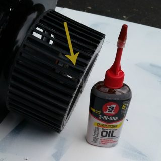 how to clean and oil an exhaust fan and more