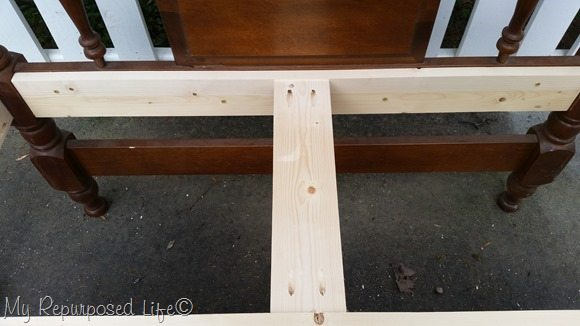 center brace for bench seat