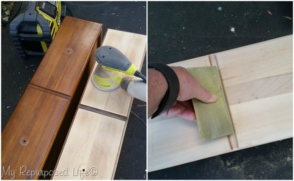 sand drawer fronts
