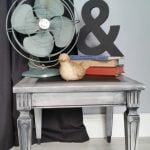 small vintage side table makeover