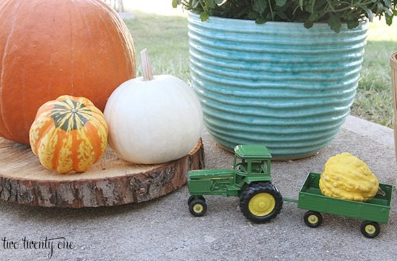 tractor-with-gourd