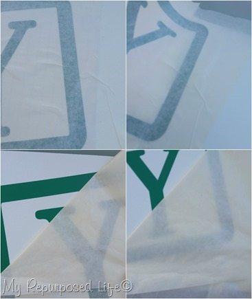 apply vinyl letters