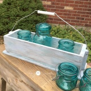 Caddy or Tray Repurposed from Hymnbook Holders