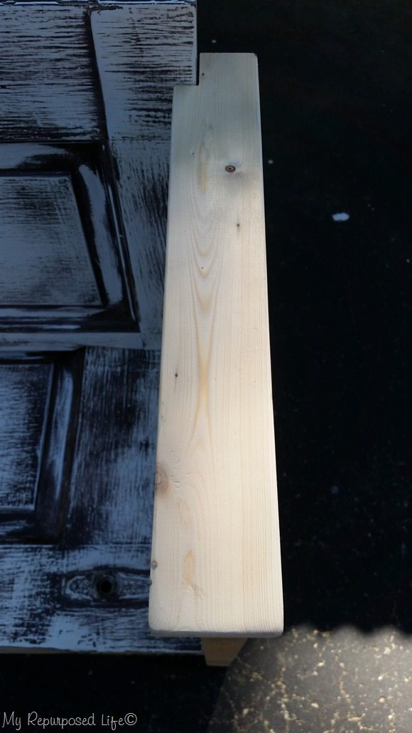 door bench arm rest