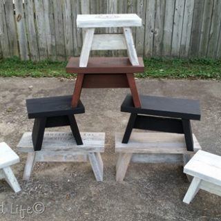 more easy one board stools and benches