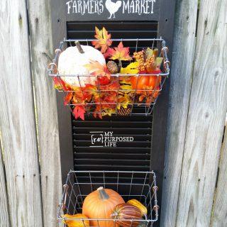 Farmer's Market Hanging Produce Bin