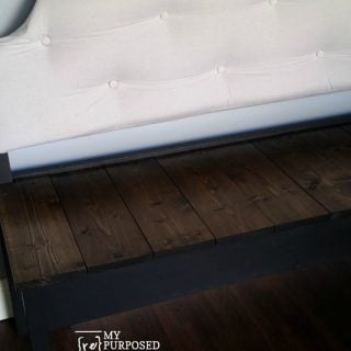tufted upholstered headboard bench