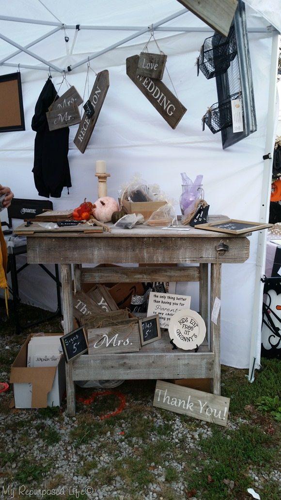outdoor bar craft show
