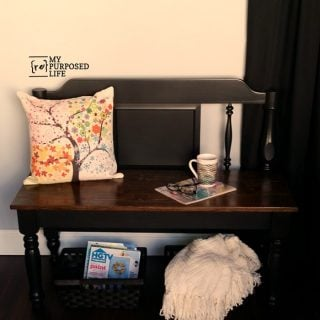 simple twin headboard bench step by step tutorial