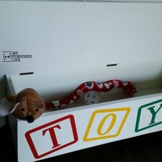 twin bed toy box