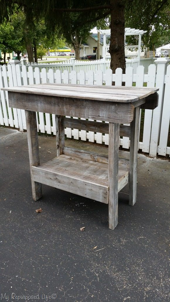 salvaged wood outdoor bar kitchen island my repurposed kitchen storage ideas salvaged wood kitchen island