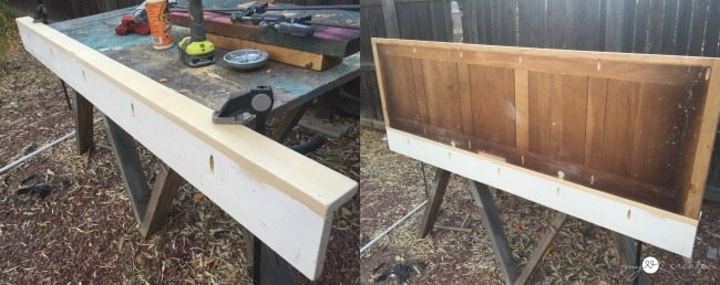 building shelves with pocket hole screws for coat rack