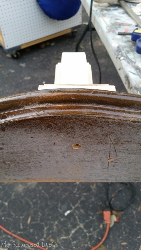 attach shelf to diy bracket