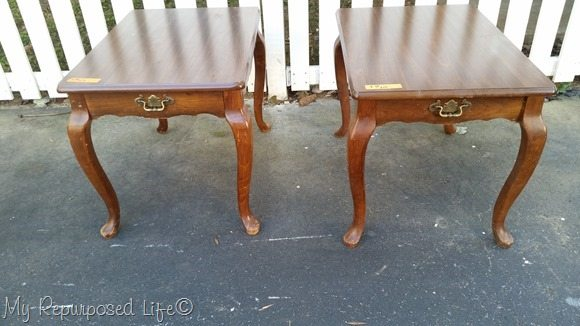 queen anne side tables
