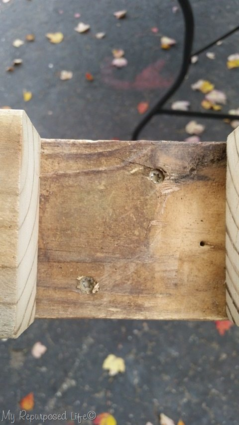 secure 2x4 to 4x4 post
