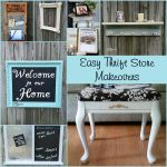 Thrift Store Decor Project Ideas