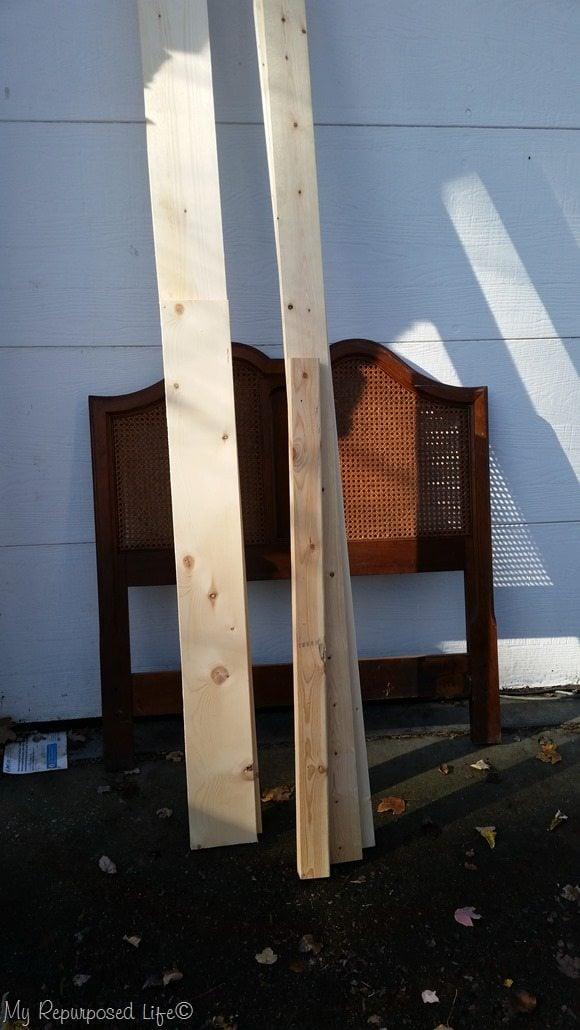 headboard bench materials