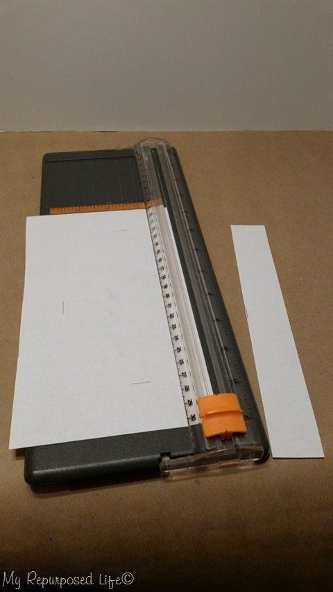 trim on paper cutter