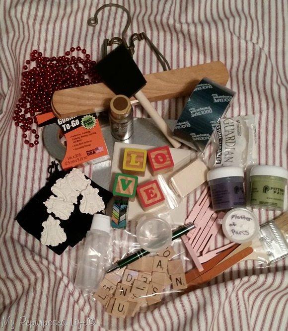 love box of craft stuff