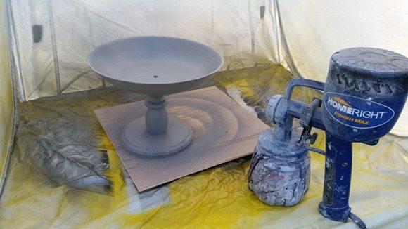 Homeright Products DIY pedestal bowl