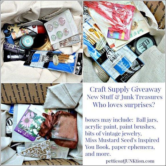 PetticoatJUNKtion Craft Giveaway