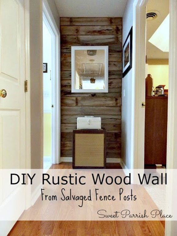 Rustic Wood Wall