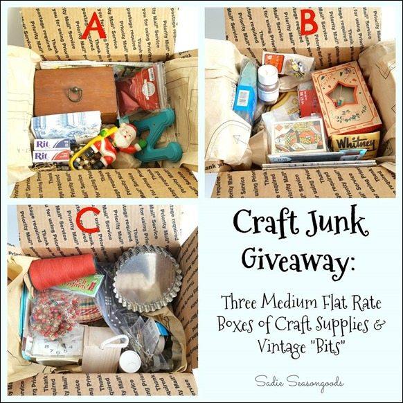 Sadie Seasongood Craft Giveaway