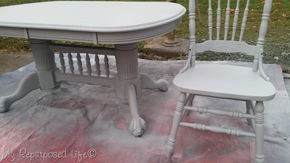diy chalky paint primer oak chairs Finish Max paint sprayer