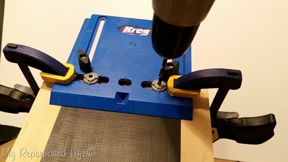 drill guide cabinet hardware jig