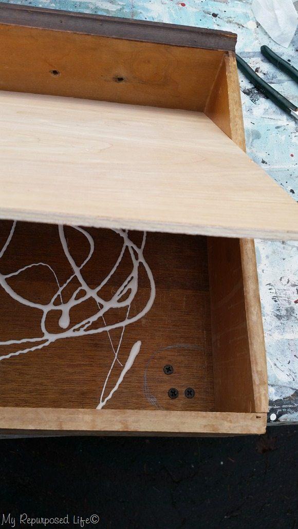 false bottom for drawer