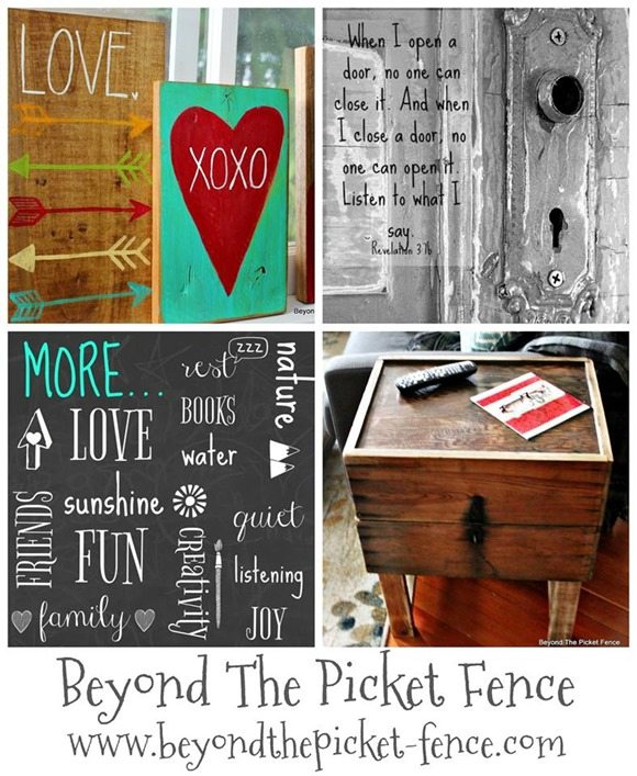 last week at Beyond the Picket Fence