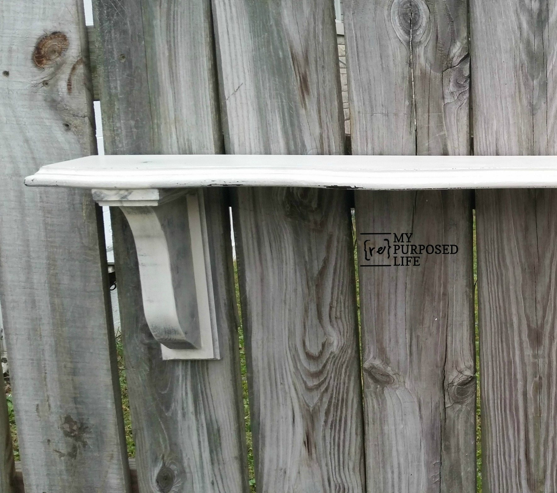 Narrow Wall Shelf Diy Corbels My Repurposed Life 174