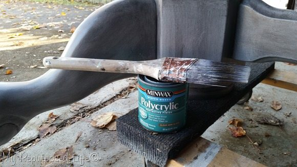polycrylic protects dining table