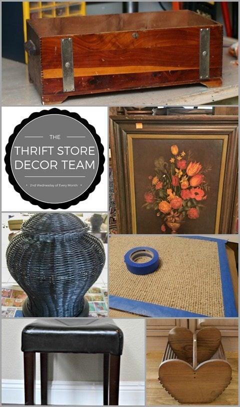 Thrift Store Decor Challenge February 2017