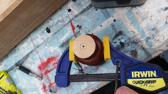 be safe-use clamp for drilling spindle