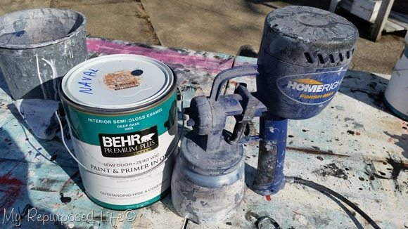 behr naval semi-gloss Finish Max