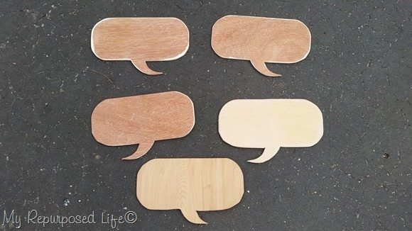 cut multiple diynchalkboard speech bubbles MyRepurposedLife.com
