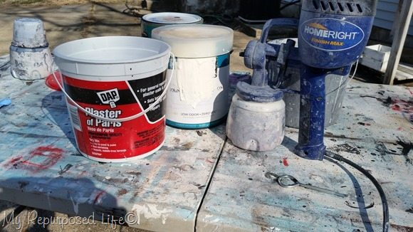 diy chalky paint primer polished pearl
