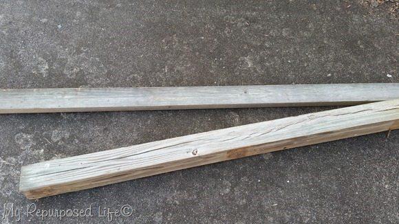 reclaimed weathered lumber