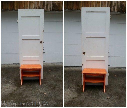 wide panel at top or narrow panel at top of door