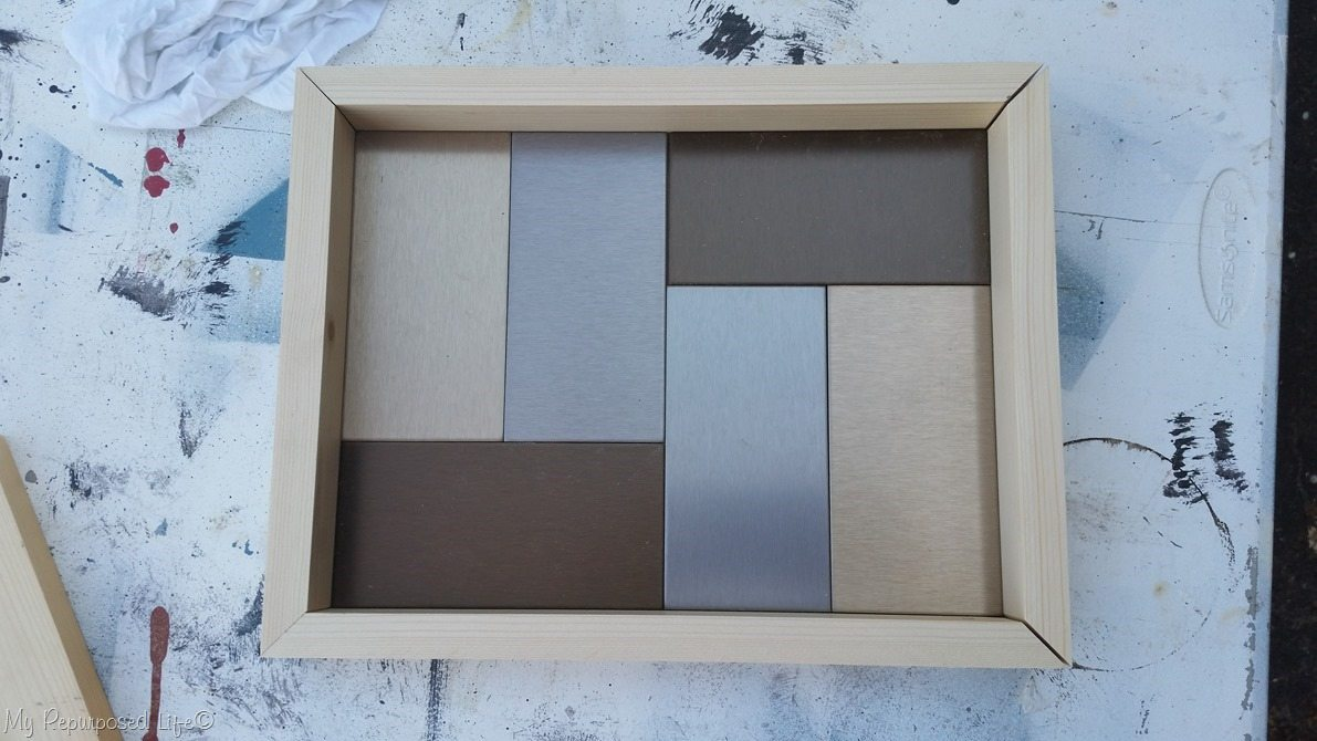 DIY tray dry fit