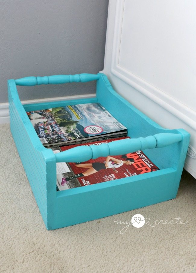 spindle crate for magazines
