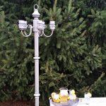 Floor Lamp Solar Chandelier